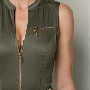 Body Button Olive Green Jump suit